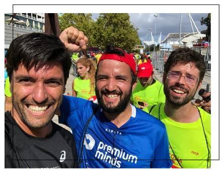 We run marathons with premium minds