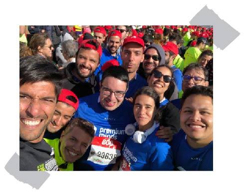 We run marathons team