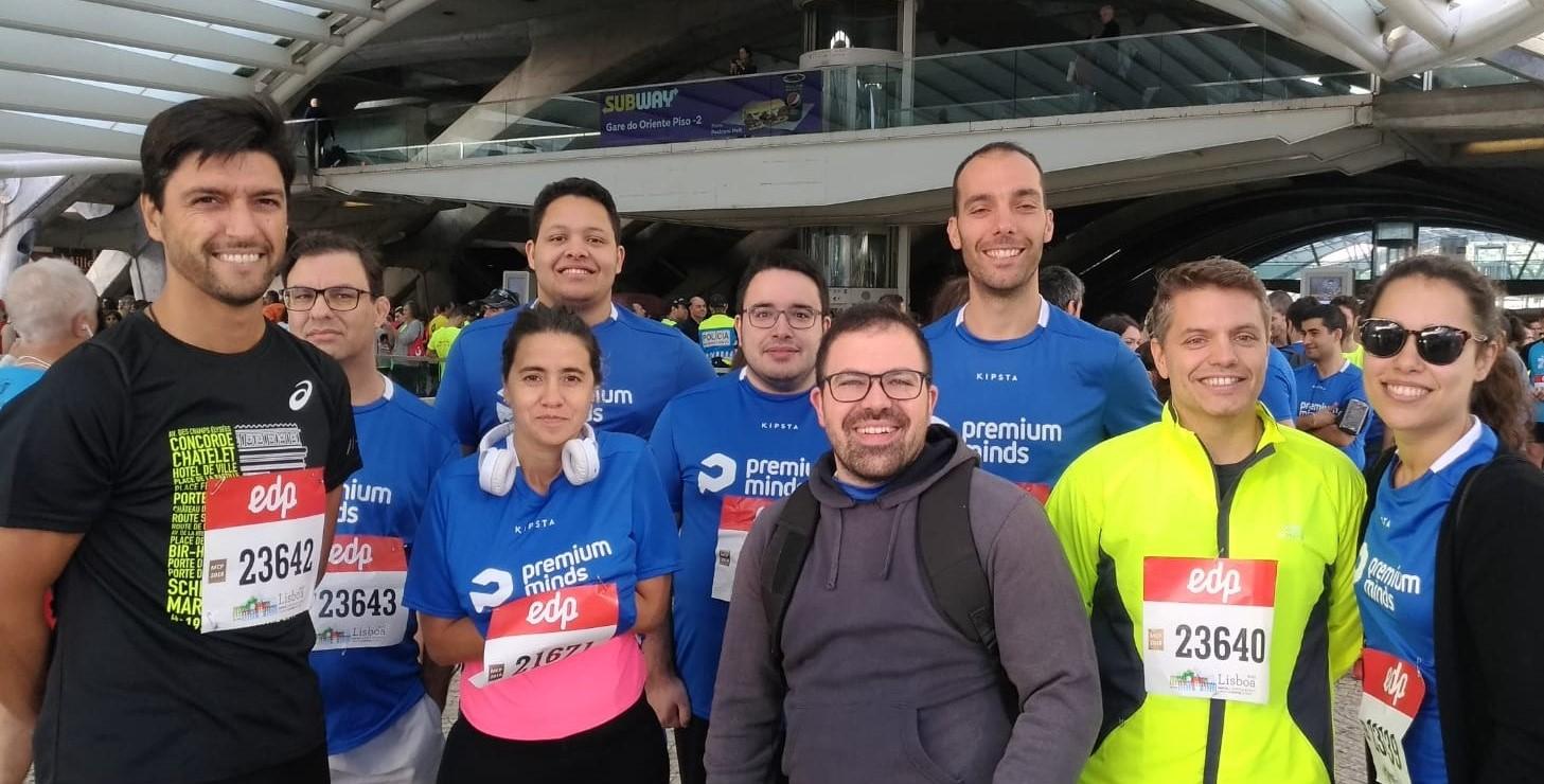 we run marathons
